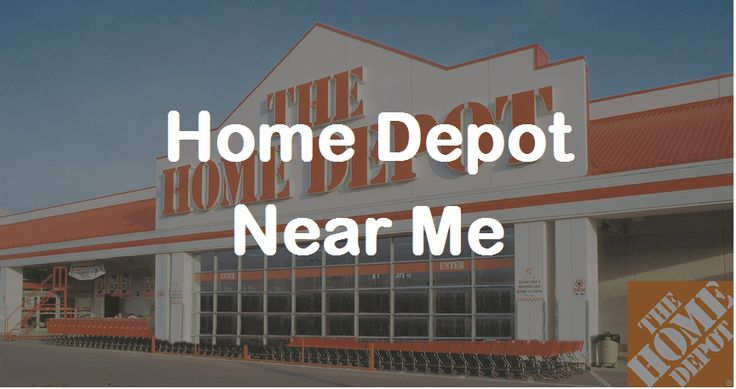 Finding a home depot near me now is easier than ever with
