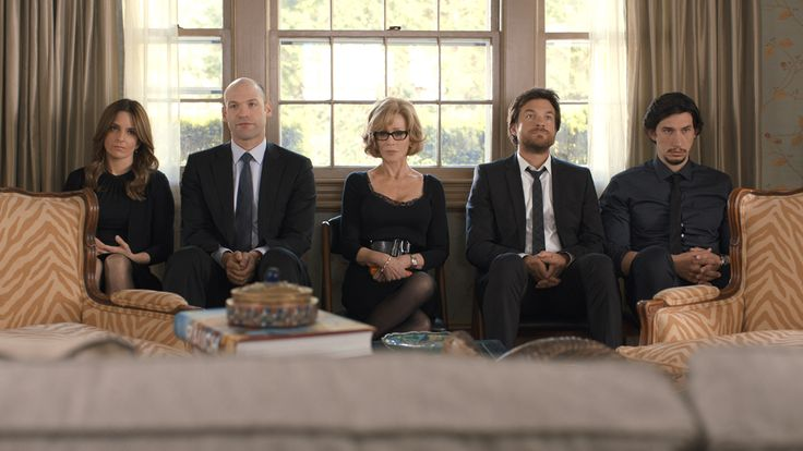 Film still from Shawn Levy's THIS IS WHERE I LEAVE YOU - starring Jason Bateman, Tina Fey, Corey Stoll, Adam Driver, and Jane Fonda - screening at #TIFF14