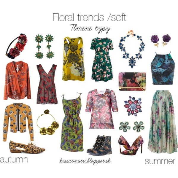 Floral trends / soft by lapetiteamelie on Polyvore featuring Miss Selfridge, ATTIC AND BARN, Chicwish, yeswalker, Latigo, Ted Baker, Jones New York, Oscar de la Renta, Forever 21 and CAbi