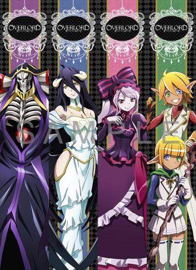 Overlord - Momonga, Albedo, Shalltear, Auro and Mare