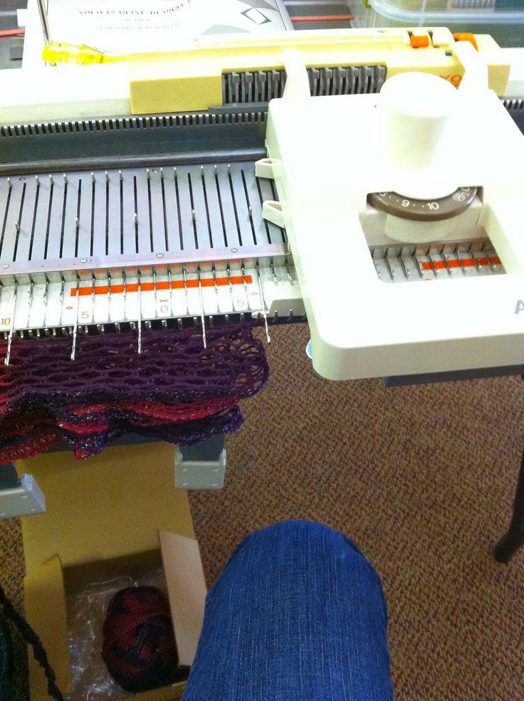 knitting machine blogs