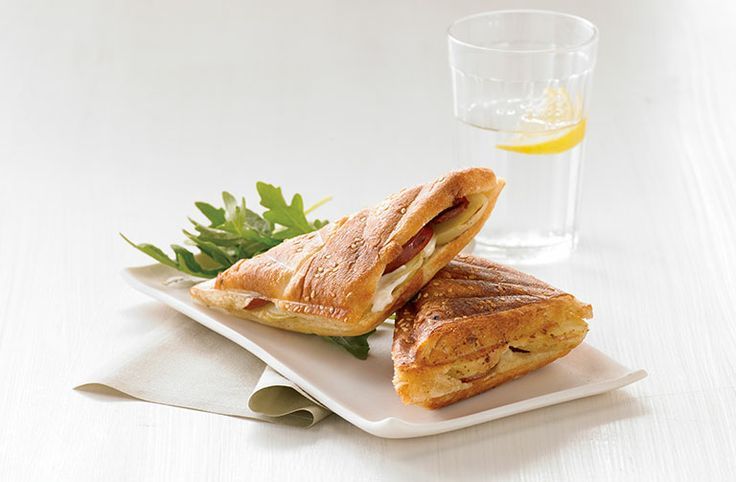 Chorizo, Potato and Aioli Jaffle - Food Thinkers by Breville - Blog (I'd use Niman Ranch Chorizo, and boil the potatoes prior to putting them in the jaffles.)