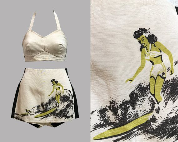 Catalina 1940s Swimsuit In TASCHEN'S Surfing Book by Gollyanna
