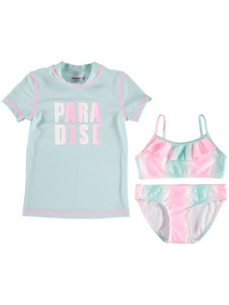 Girls Bikini And Rashi Swim Set