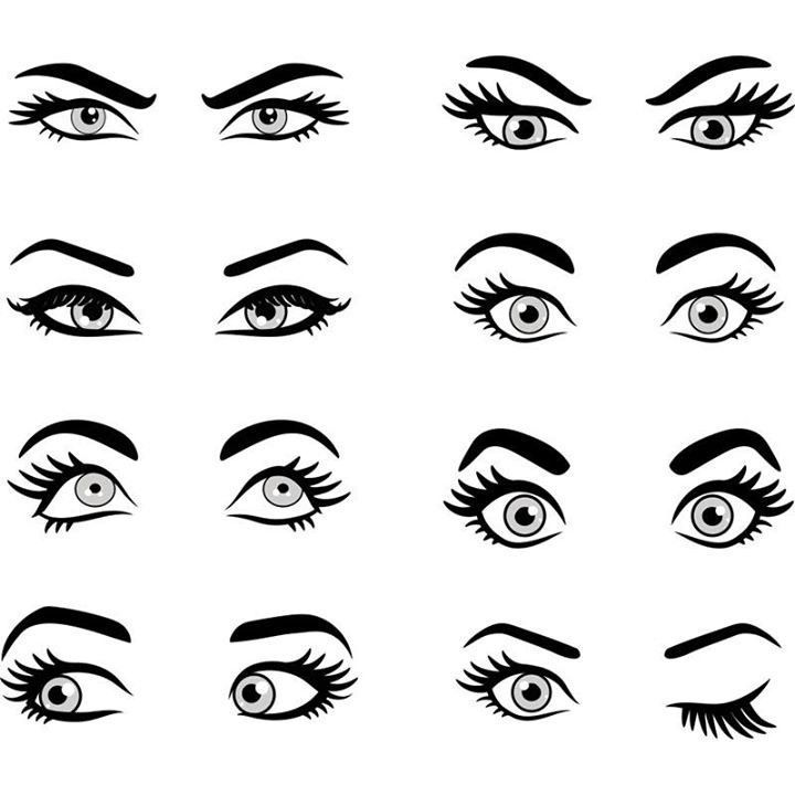 Drawing Eyes Expression Which Eyebrow Style Works Best For You