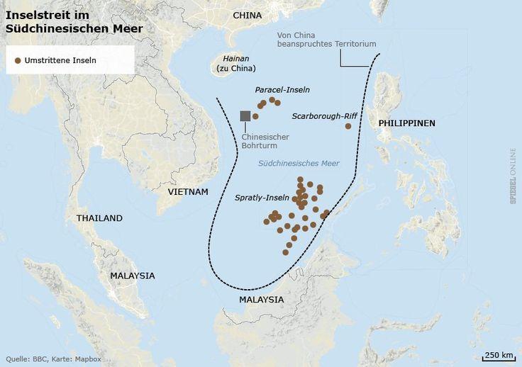 Südchinesisches Meer: China baut auf Spratly-Inseln - SPIEGEL ONLINE