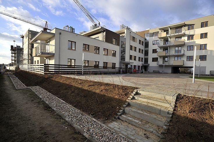 grudzień 2014 na budowie http://www.budimex-nieruchomosci.pl/warszawa-osiedle-pod-sloncem-2/