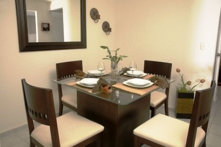 small spaces small rooms can feel spacious like this simple dining