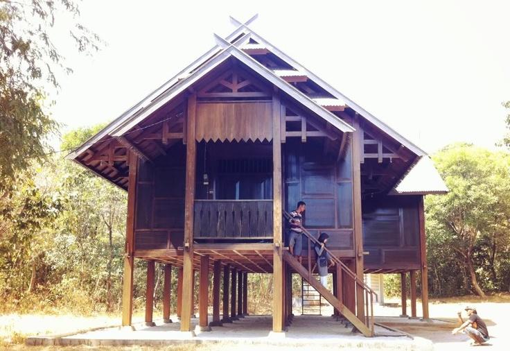 "Bugis traditional house. clan ""watampone"""