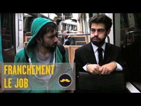 """FRANCHEMENT- Le Job (golden moustache vidéo). A utiliser pour faire décrire la journée et pour """"que va-t-il se passer?"""""""