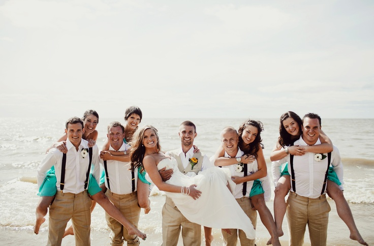 Destination weddings need custom clothing too!