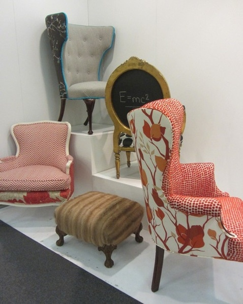 Wild Chairy Is A Company That Takes Old , Found, Vintage Chairs And Gives It