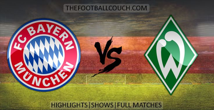 [Video] Bundesliga Bayern Münich vs Werder Bremen Highlights and Full Match - http://ow.ly/ZnYhg - #BayernMünich #WerderBremen #soccerhighlights #footballhighlights #football #soccer #fussball #germanfootball #thefootballcouch