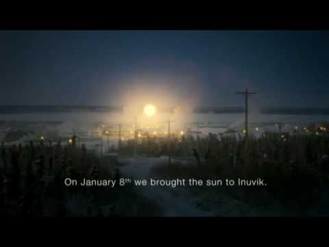 RAK Tropicana Advert Commercial: Arctic Sun - Brighter mornings for brighter days