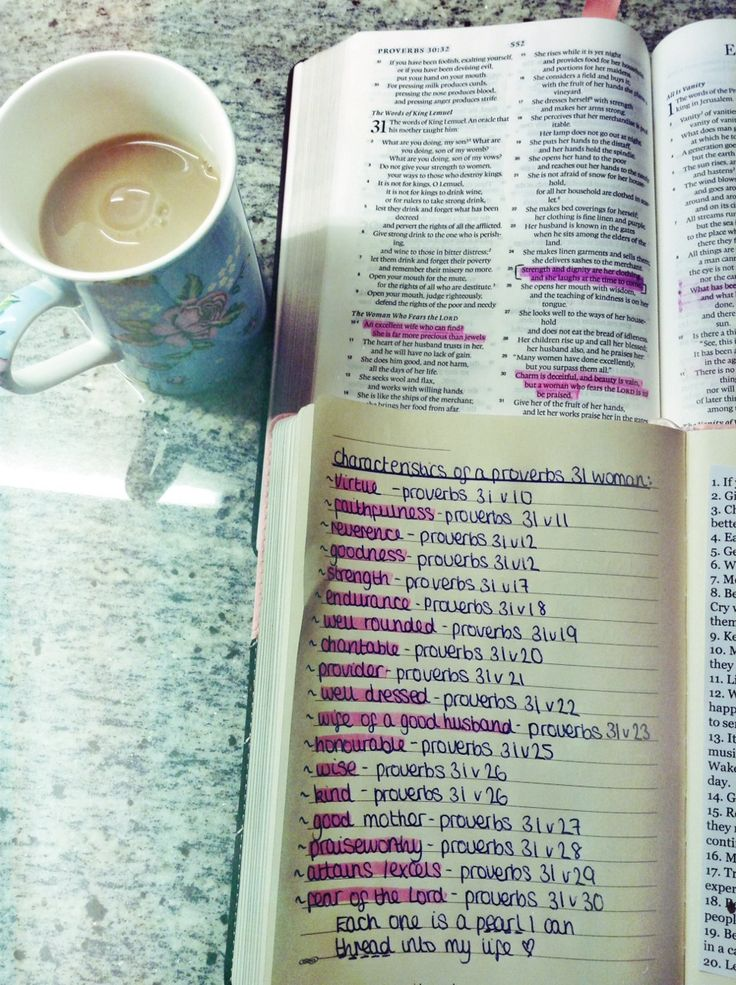 Studying the characteristics of a Proverbs 31 woman