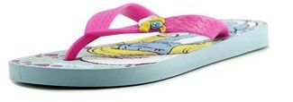 Ipanema Smurfs Youth Open Toe Synthetic Blue Flip Flop Sandal.