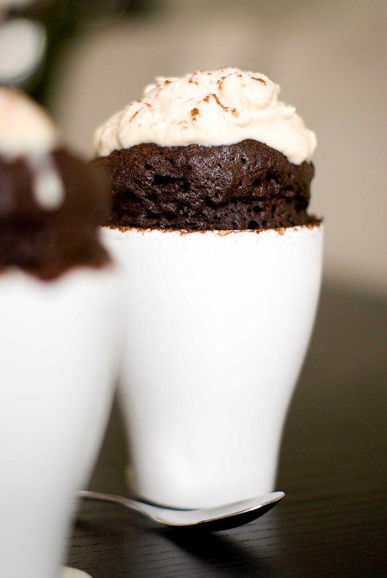 Mug Cake Nutella Au Micro Onde