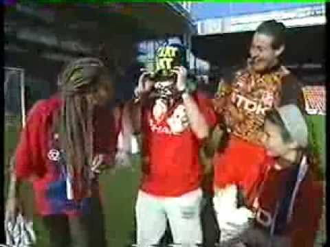 Nigel Martyn appears on some awful kids' TV show, circa 1994/95.