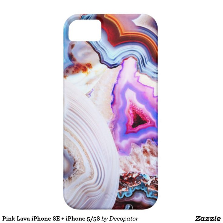 Pink Lava iPhone SE + iPhone 5/5S iPhone 5 Cover