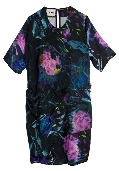 acne floral dress  #holtspintowin