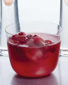 In the 17th century, employees of the British East India Company discovered punch, a beguiling combination of spirits, water, lemon, sugar, and spices that became synonymous with good cheer and festive celebrations all over Europe. Here, pomegranate and lemon sharpen the sunny New World flavor of cranberries.