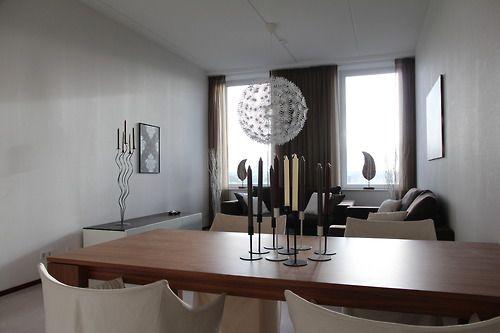 Livingroom modelapartment the Hague. Some secondhand, some fleamarket some IKEA