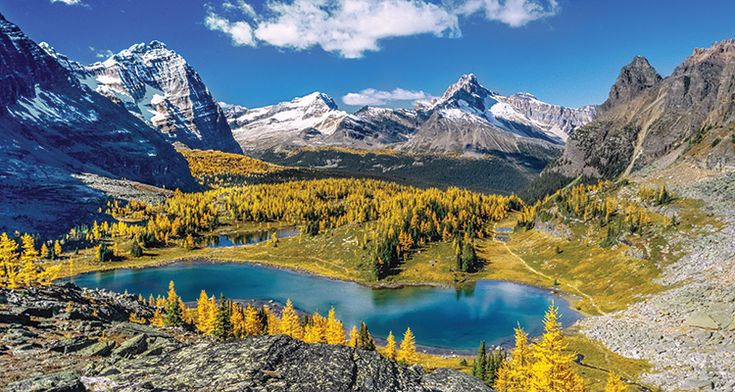 Get the story behind the Lake Oesa-Opabin Lake Loop, Yoho National Park, British Columbia—and how to see it yourself.