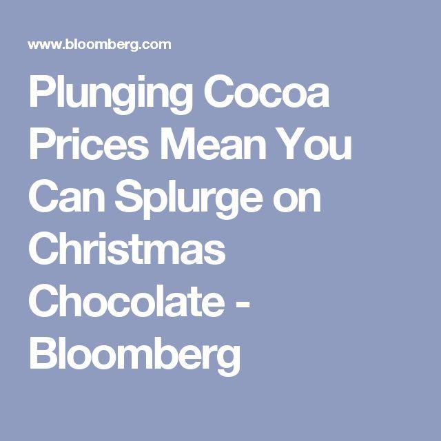 Les 25 meilleures idées de la catégorie Cocoa price sur Pinterest ...