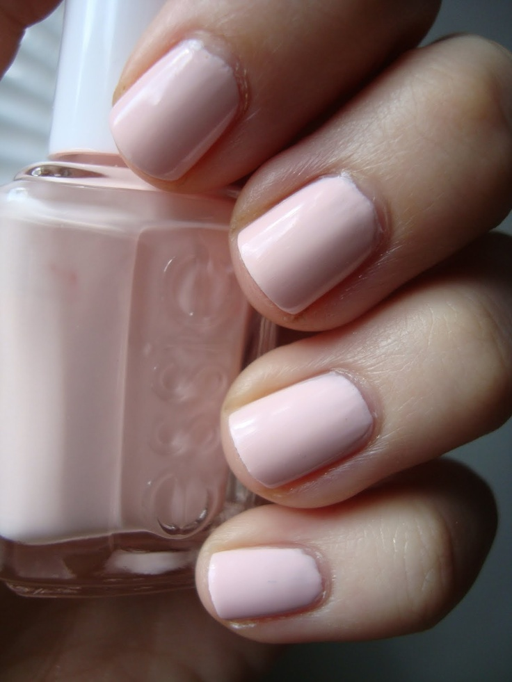 Essie Pale Pink Comparison Ballet Slippers Minimalistic: I Got Nail Polish On My SATs