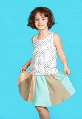 Fairy skirt, #pastel #kids #summer #skirt