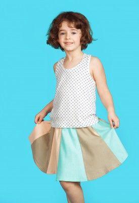 Fairy skirt, #pastel #kids #summer #skirt
