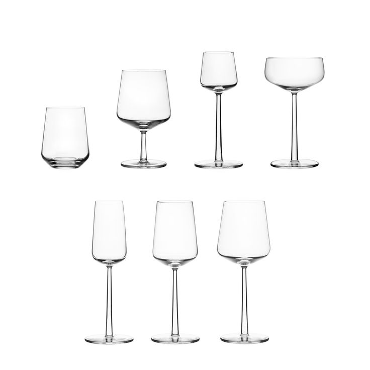 #Essence by #Iittala, beautifully simple glassware to last you a lifetime.
