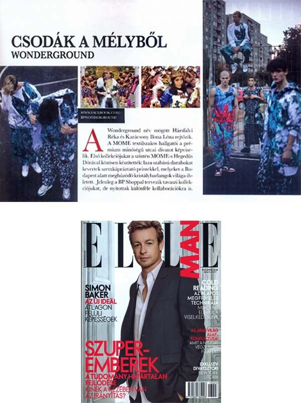 First collection in Elle Man 2013