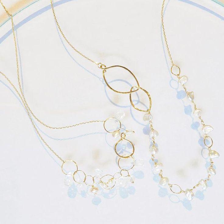 新作ネックレス フロントで長さ調整ができて、フックの付ける位置で表情が変わるネックレスです♩ ・ ・ 今週8/5(金)〜8/28(日)まで日本橋、コレド室町3  LIVETART様にてイベント開催致します。 新作も多数取り揃えてお待ちしておりますので是非お越しください!  #anqjewelry #ジュエリー#jewelry #ネックレス#necklace #天然石#stone #ゴールド#gold #白#ホワイト#white #パール#perl #イベント #新作 #日本橋#コレド室町3 #LIVETART  anq.お取り扱い店舗  #銀座#ginza#銀座サロン #東京#新丸ビル#ブランティムール #大阪#グランフロント大阪 #大阪高島屋