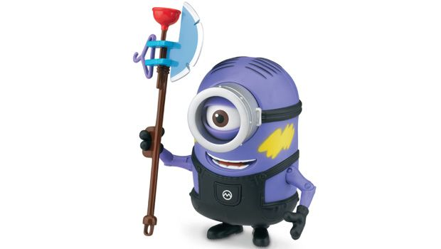 DELUXE ACTION FIGURE  UNDERCOVER MINION