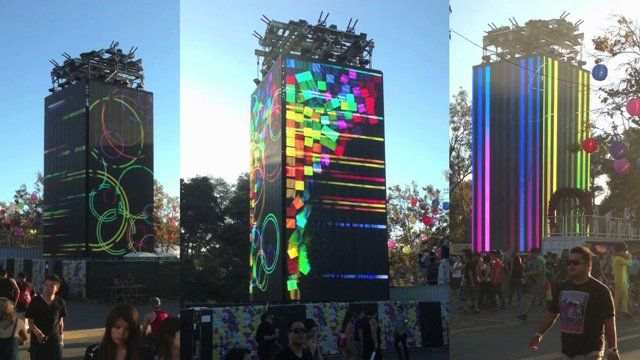 This is a live mix!  Motorola & Live Nation have teamed up to create a monolithic, visual spectacle. The Motorola cube will be appearing at a festival near you soon.  Production: Dorian Orange, Mission Control, Live Nation and Motorola.  Live VJ: Ben Stokes.  Content: Dorian Orange, Ben Stokes, Chris O'Dowd,