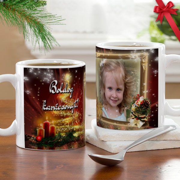 Fényképes karácsonyi bögre - 02.