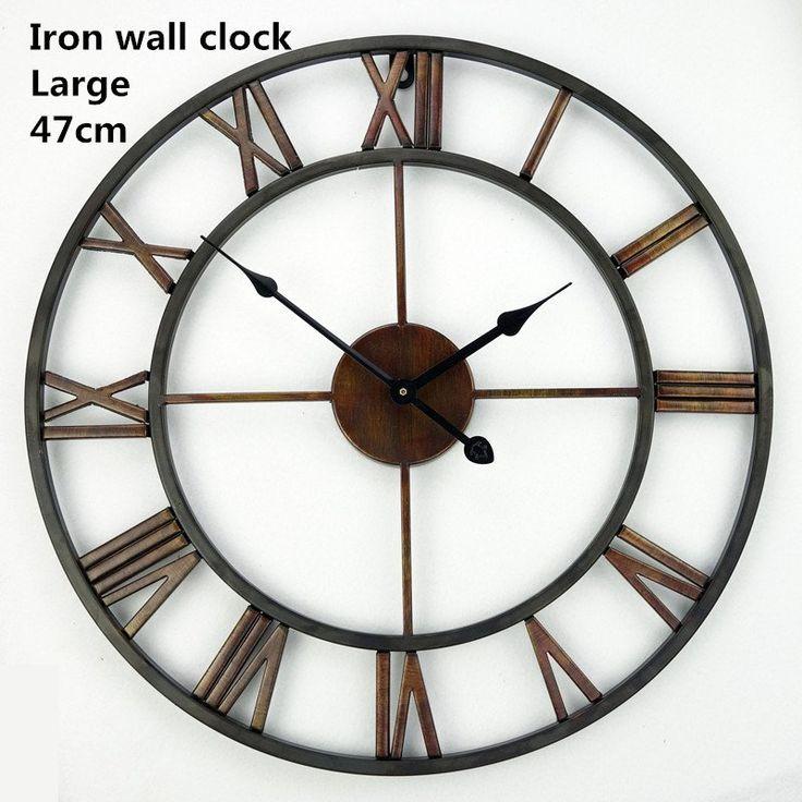 Saat Large Wall Clock Watch Wall Clock Relogio de Parede Reloj de Pared Watches Horloge Murale Duvar Saati Relogio Parede Clocks