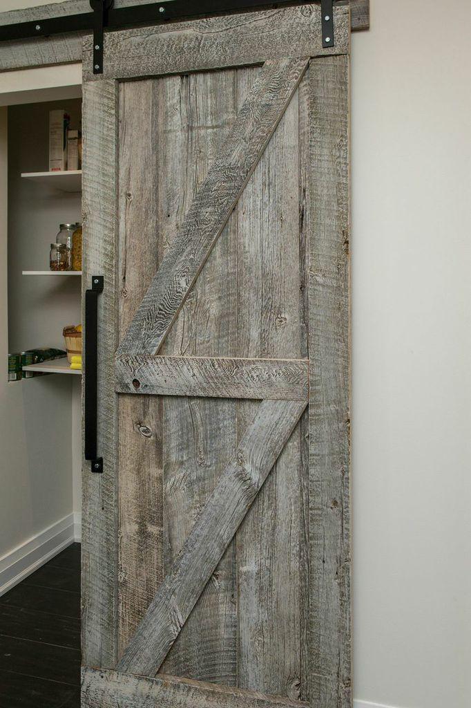 Rebarn custom sliding barn door sarah andrew for Custom sliding doors