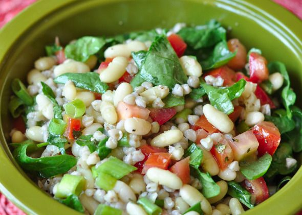 French Bean Salad -- Looks like a good potluck dish