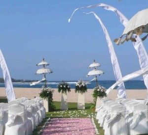 Outdoor Wedding Venue - Ayodya Resort Nusa Dua, Bali