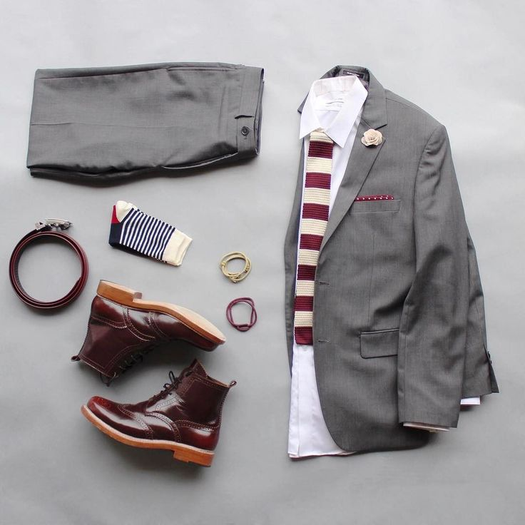 Sunday best. I'm sick today so I'm unfortunately not going to wear this today.  I will try to take a shot and post for inspiration if I feel better later today.  Tie & Pocket Square: @otaa.australia  Socks: @wcrco  Belt: @ansonbelt  Boots: @ortodoux  Bracelets: @makkerclothing @archeusdesigns  Lapel Pin: @weekendcasual  Shirt: @calvinklein  Suit: Pronto Suomi