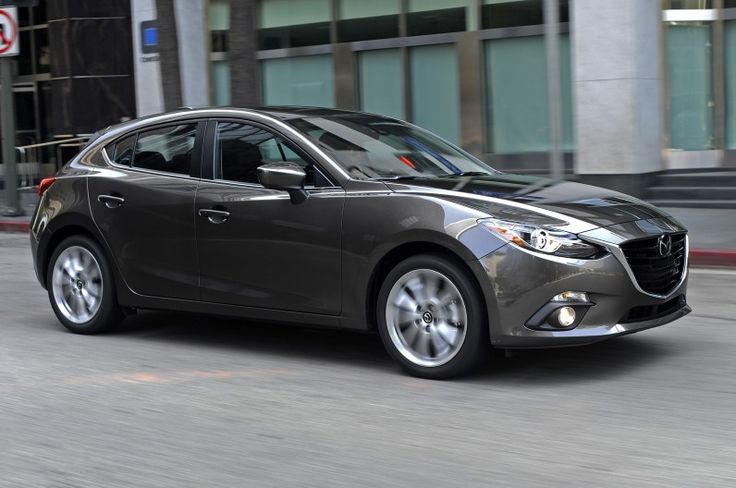 2014 mazda 3 5-door. what a slick little car.
