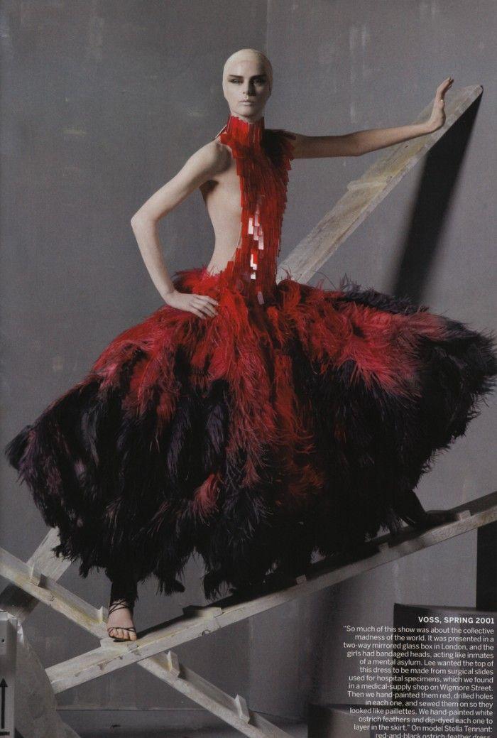 Savage Beauty – Vogue feiert das Genie von Alexander McQueen | die Zeitschrift…   – Halloween