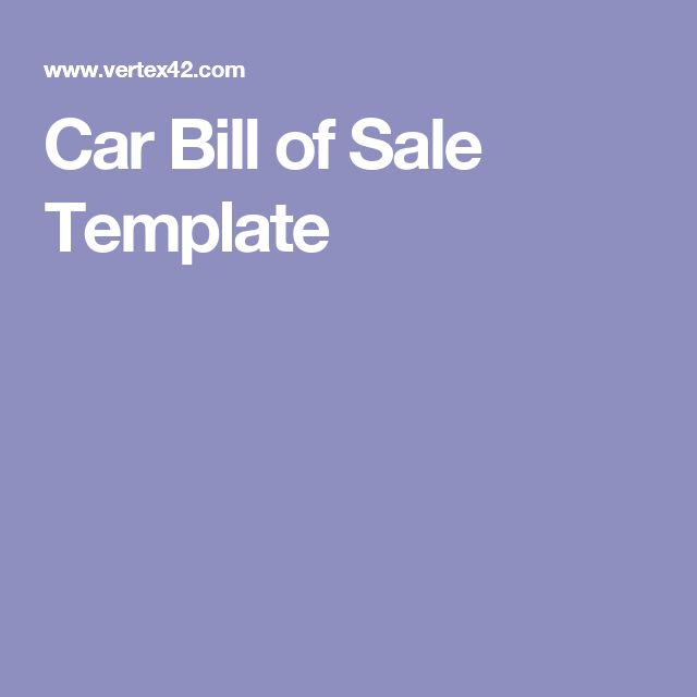 The 25+ best Bill of sale car ideas on Pinterest Bill of sale - contract for car sale