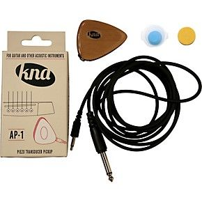 $39 Get the guaranteed best price on Acoustic Guitar Pickups like the KNA AP-1 Portable Piezo for Guitar and Other Acoustic Instruments at Musician's Friend. Get a low price and free shipping on...