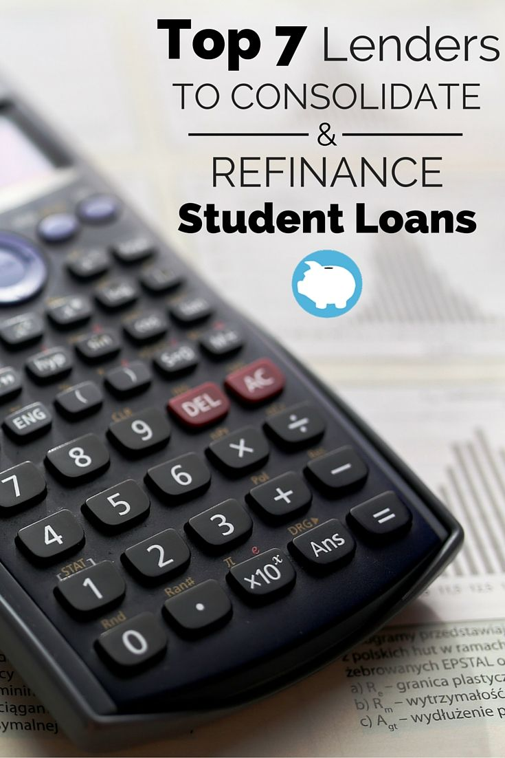 Student loan debt sucks!  Cut your payments by consolidating and refinancing with these lenders.