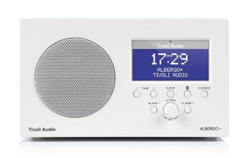 Tivoli Audio Albergo+ Radio-réveil avec Bluetooth DAB/DAB+/FM Blanc: Garantie Fabricant: 2 an(s) Type de fichiers reconnus:Aucun Cet…