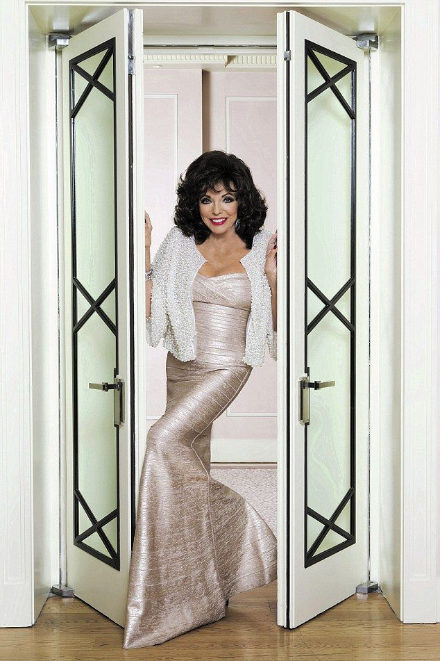 Joan Collins says she thinks that Britain has become overcrowded and wants us to leave the...