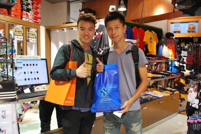 【大阪店】2014.09.26 台湾からお越しいただきました~スパーズが大好きなお客様!!!スナップありがとうございます!